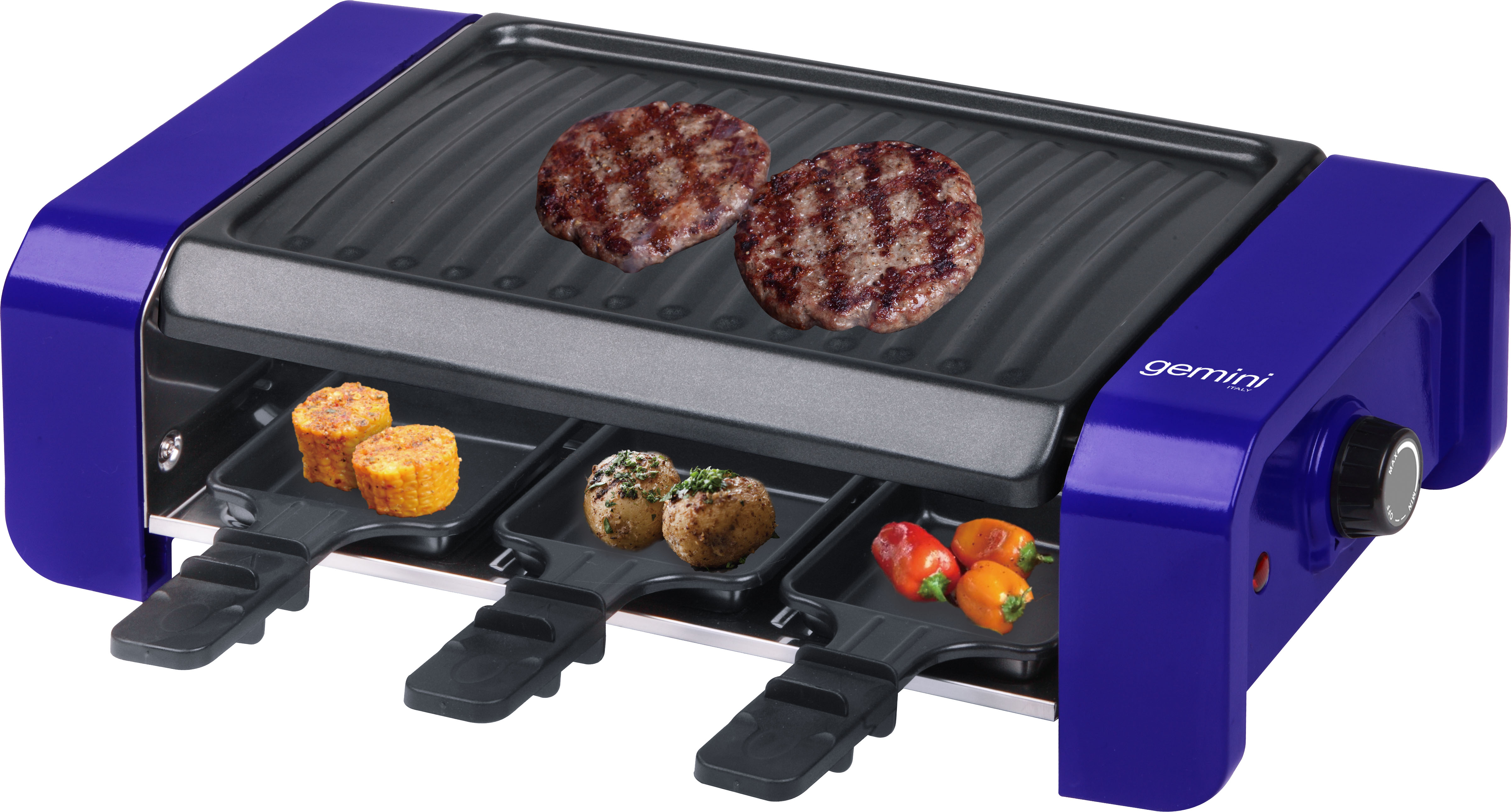 Gemini 3-IN-1 Electric BBQ Griller GBG900V