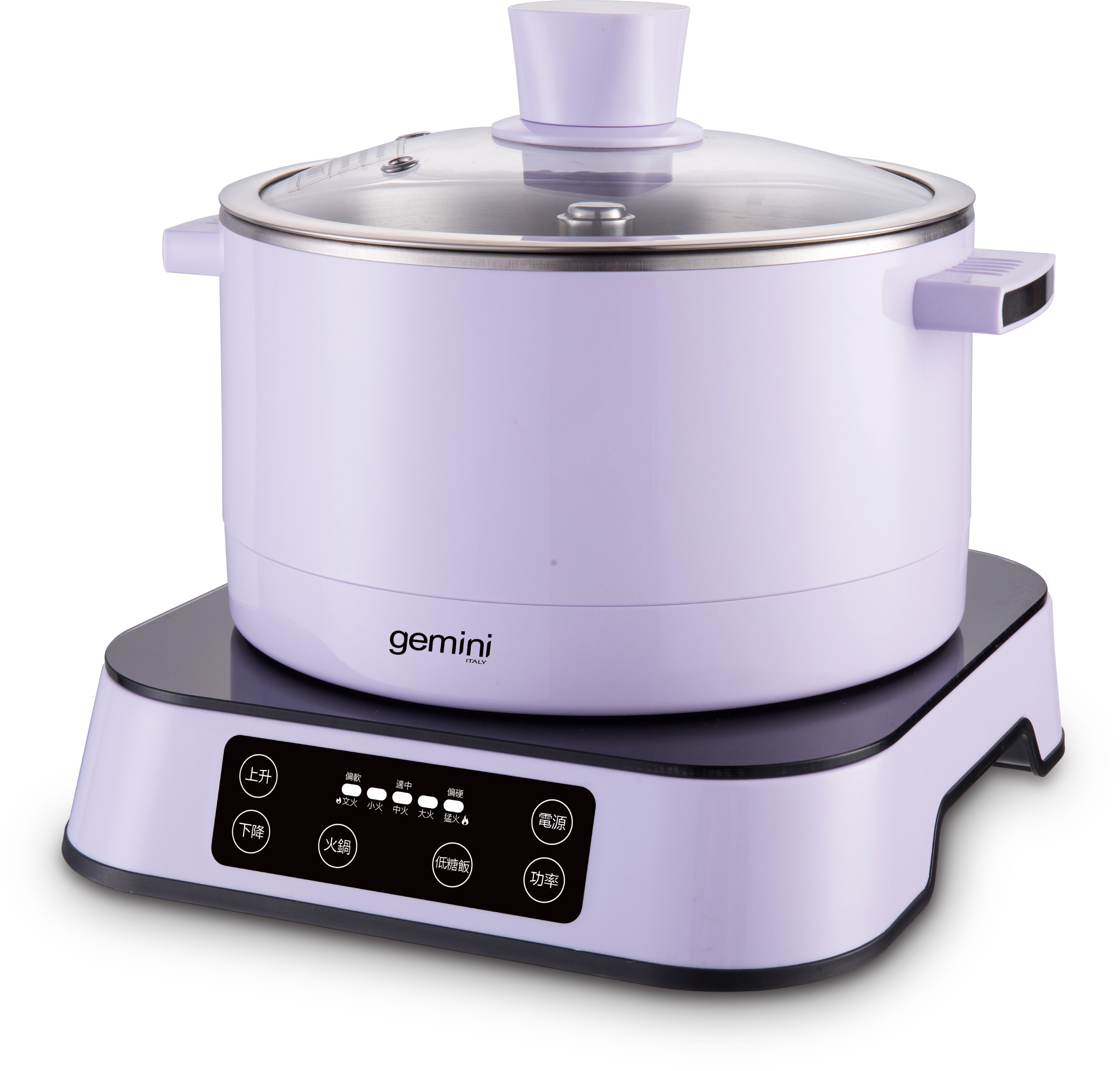 Gemini 2.5L Smart Auto-lifting Multi-functional Hot Pot Cooker - GUM15V