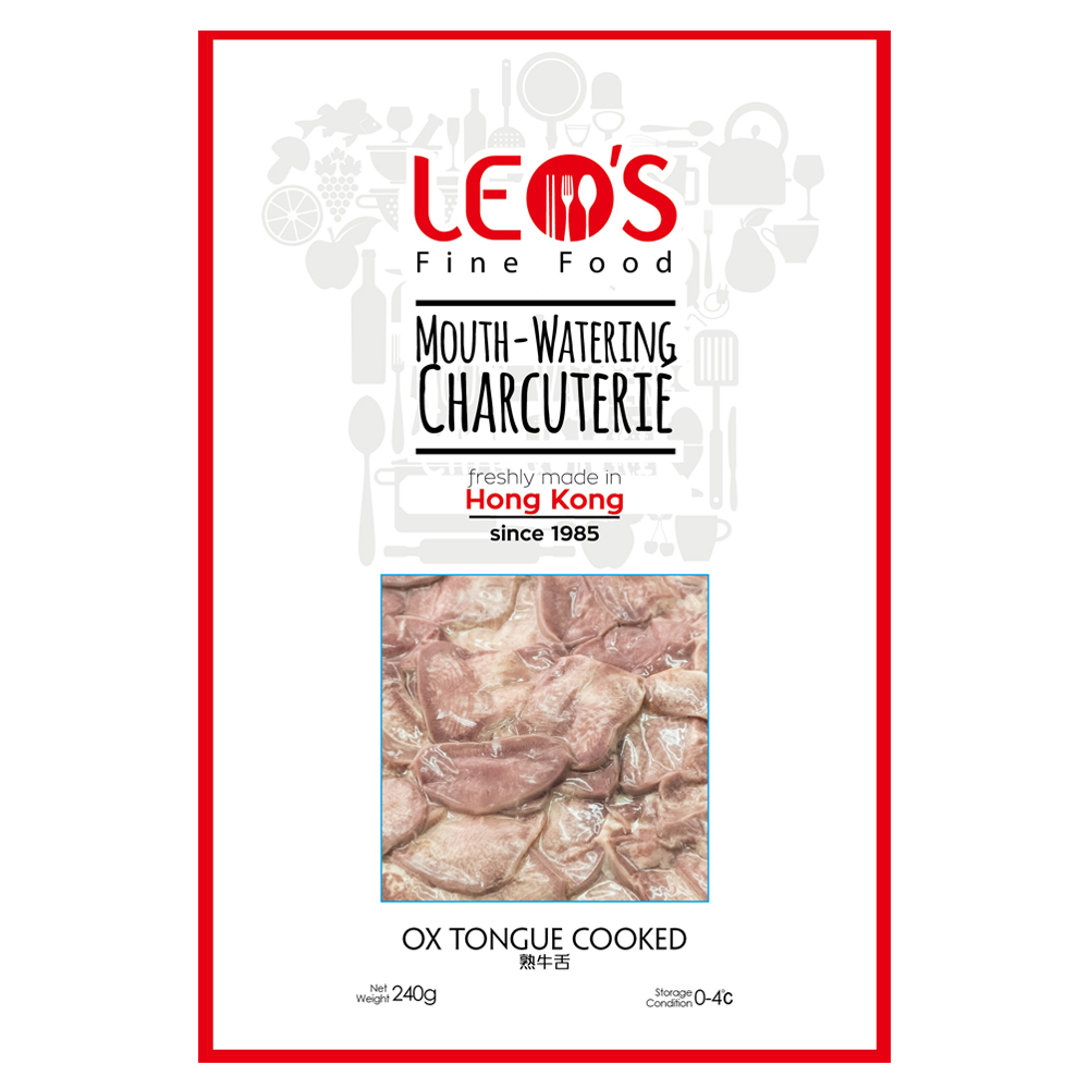 LEO's Cooked Ox Tongue Sliced 240g