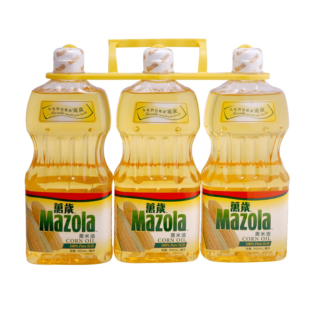 Mazola Corn Oil 900ml x 3