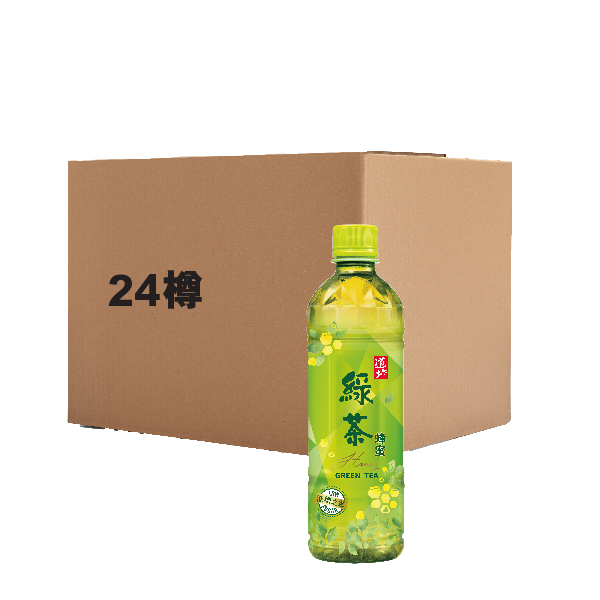 TAO TI GREEN TEA W/V HONEY 500ML