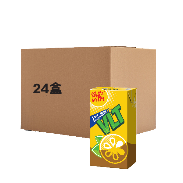 VITA LOW SUGAR LEMON TEA DRINK 375MLX24
