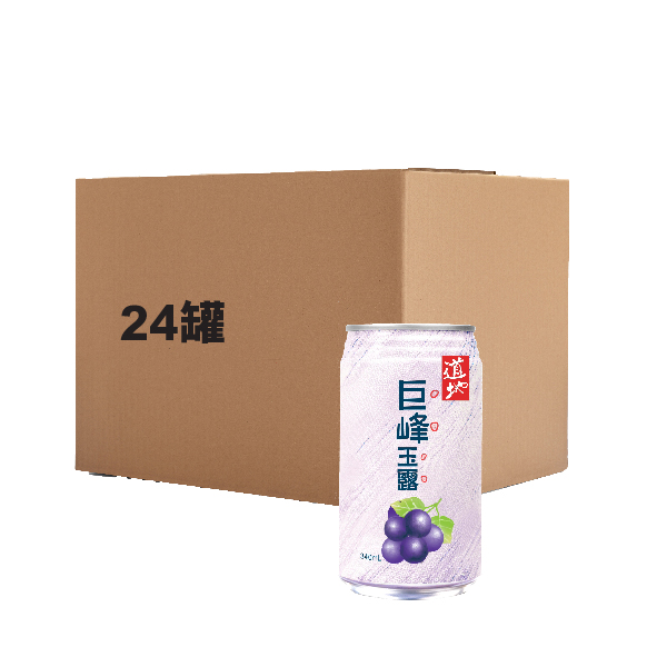 TAO TI KYOHO GRAPE JUICE WITH NATA DE COCO 340ML