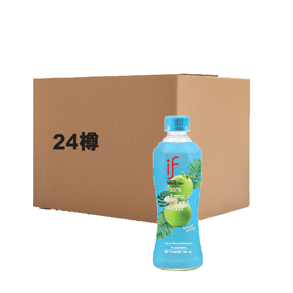IF [FULL CASE] AROMATIC COCONUT WATER 350ML