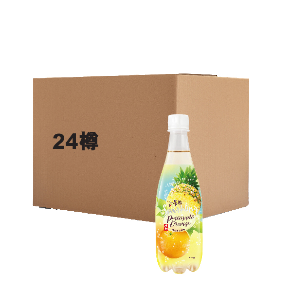 TAO TI PINEAPPLE ORANGE CSD 500ML
