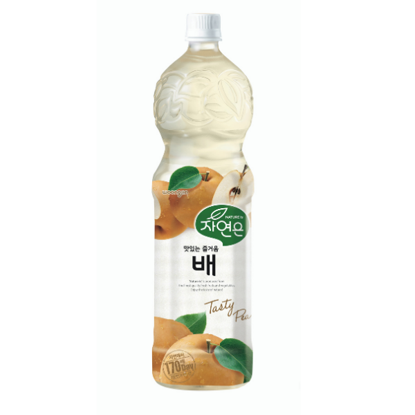WOONGJIN NATURES PEAR DRINKS 1500ML
