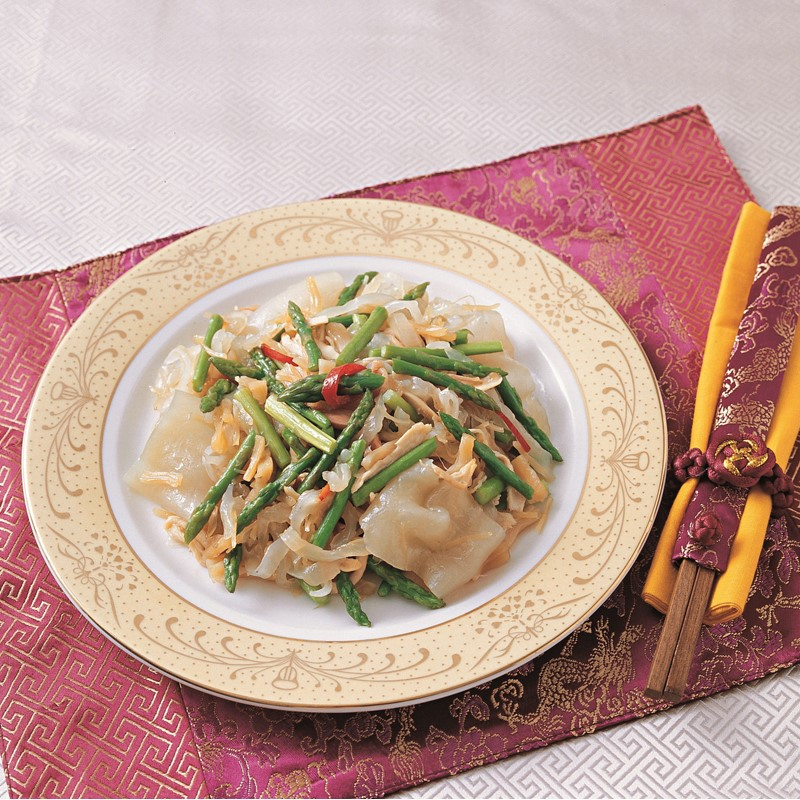 Sauteed Fish Maw with Dried Scallop and Chicken